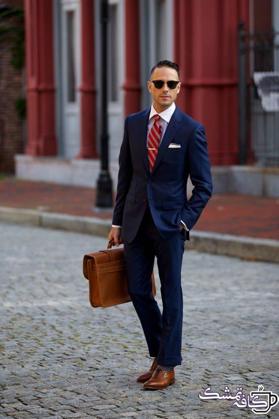 چطور کت و شلوار رسمی بپوشیم