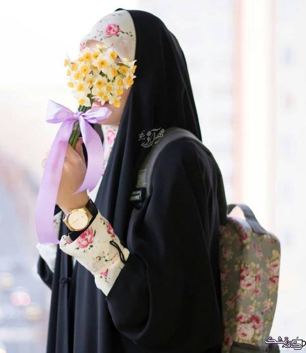 عکس پروفایل زیبا دخترانه چادری محجبه