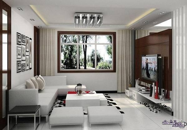 مناسب خانه های کوچک 56 - انتخاب مبل مناسب با دکوراسیون منزل