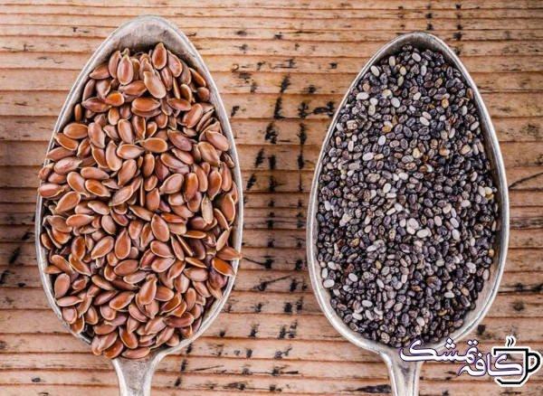 Chia Seeds Vs Flax Seeds 768x561 - 15 غذای مفید برای حفظ سلامت قلب