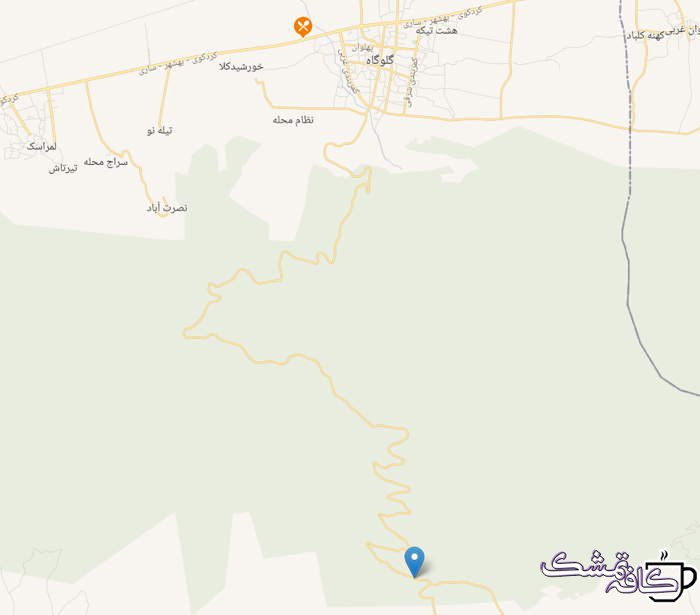 Screenshot 1 - توسکا چشمه کجاست | فاصله تا گلوگاه