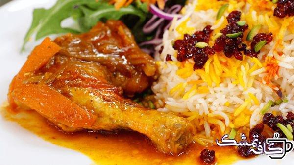 khoresh morgh tabriz 848x477 - آموزش درست کردن مرغ ترش بدون سبزی