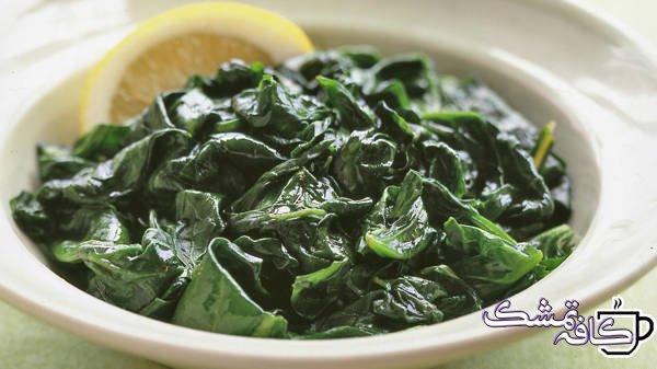 steamed spinach with lemon A102018 horiz - 15 غذای مفید برای حفظ سلامت قلب