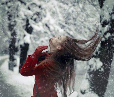 Photo of ژست عکاسی در برف ، عکس هنری در برف