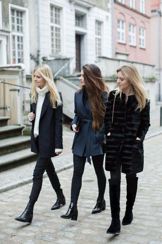 تیپ زمستانی دخترانه و زنانه 2020