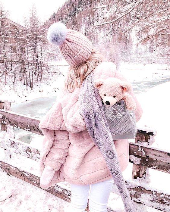 عکس پروفایل زیبای زمستانی دخترانه 2020