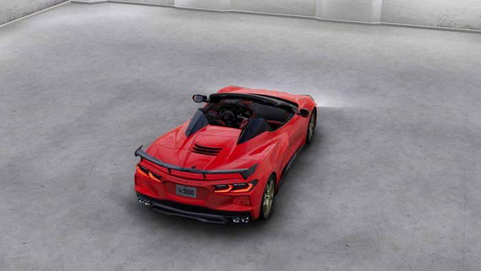 معرفی خودرو شورلت کروت C8