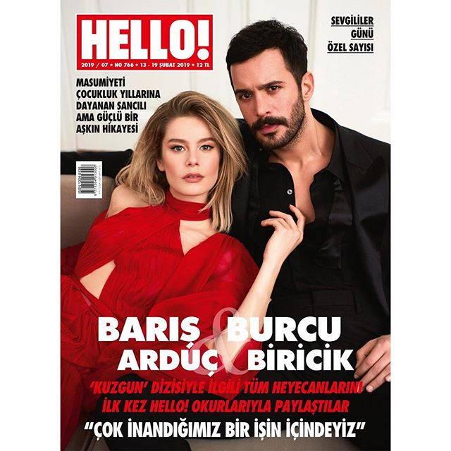بورجو بیریجیک و باریش آردوچ روی مجله HELLO