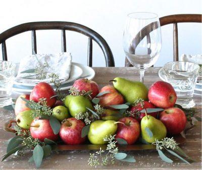 Photo of چیدمان میوه روی میز ، مخصوص مهمانی و عید