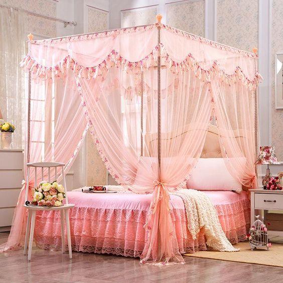 دیزاین اتاق خواب عروس 99 2020 + تزئین تخت خواب عروس