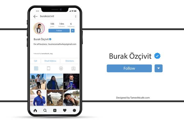 بیوگرافی بوراک اوزچیویت Burak Ozcivit - صفحه اینستاگرام
