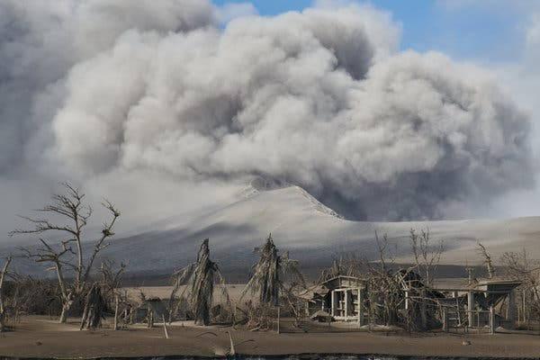 فاجعه آتشفشان تال Taal