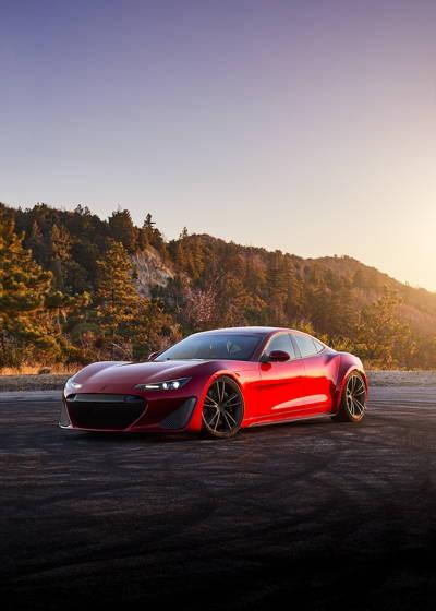 سوپر اسپورت میلیون دلاری Drako GTE