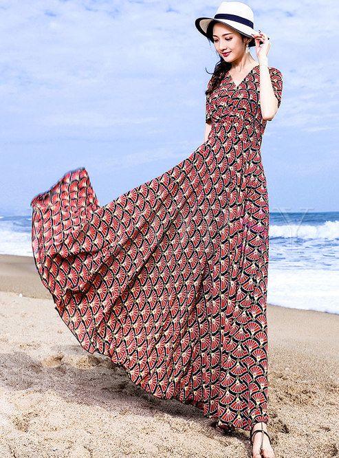 مدل لباس ساحلی بلند ، انواع مدل لباس ساحلی بلند زنانه 2020 99