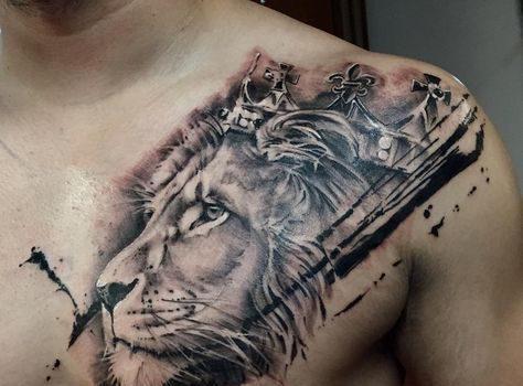 طرح تتو مردانه روی دست روی سینه روی بازو ، انواع طرح تتو مردانه و پسرانه