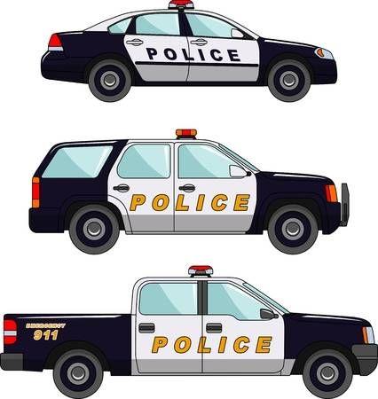 نقاشی ماشین کودکانه و ساده ، انواع نقاشی های ماشین کارتونی و ماشین پلیس