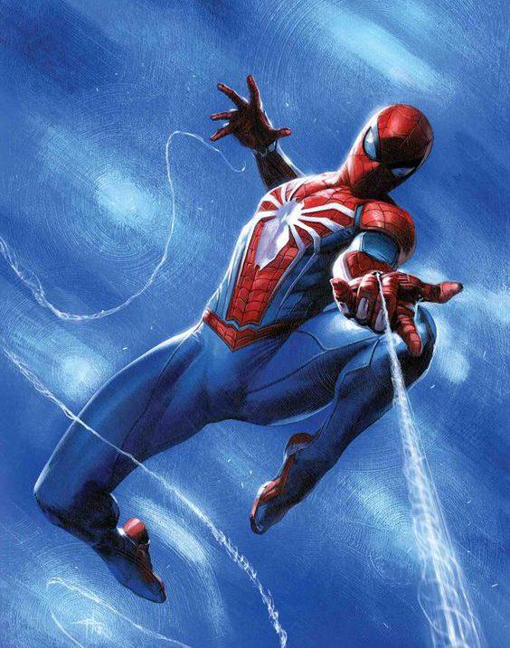 نقاشی مرد عنکبوتی جدید و آسان ، انواع طرح مرد عنکبوتی برای نقاشی کودکان
