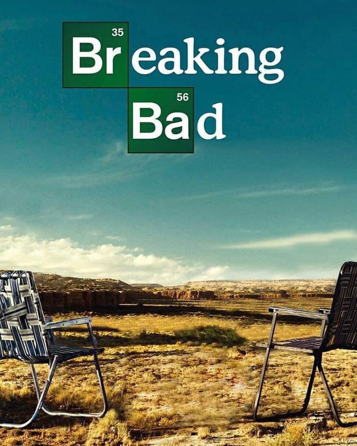 پوستر سریال محبوب Breaking Bad بدون حضور شخصیت ها