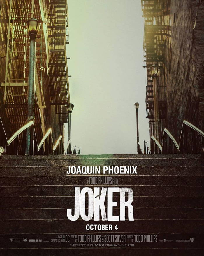 پوستر فیلم Joker بدون حضور شخصیت جوکر