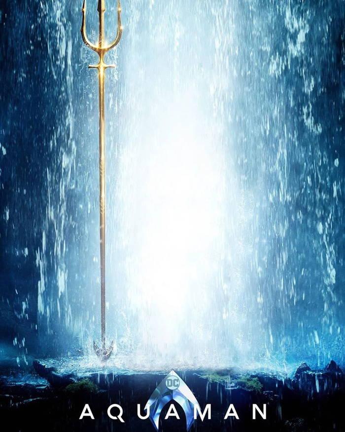 پوستر فیلم زیبای Aquaman بدون حضور شخصیت اصلی