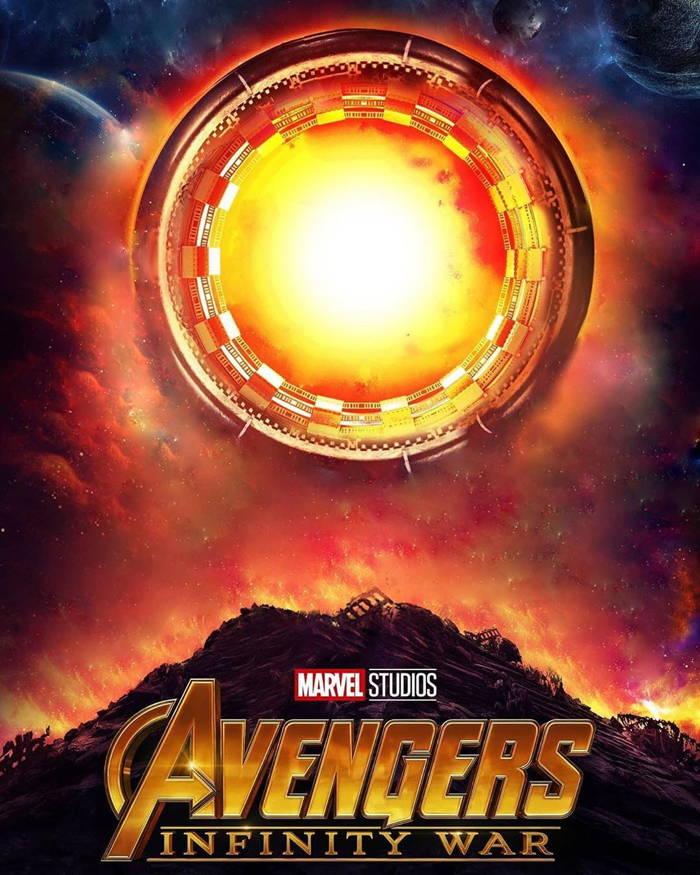 پوستر نسخه محبوب Avengers-Infinity War بدون حضور شخصیت ها
