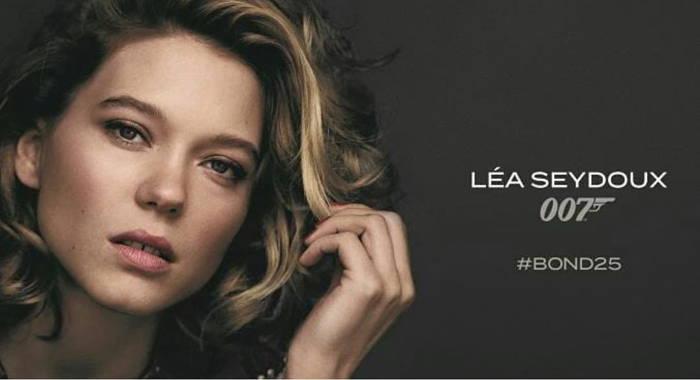 Lea Seydoux در سری جدید جیمز باند